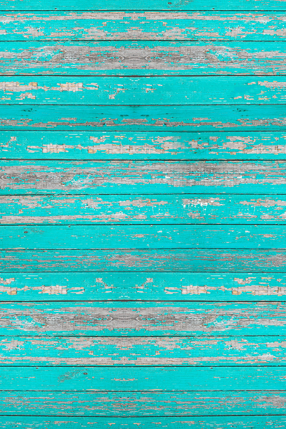 Savage Floor Drop - Distressed Teal Wood - 5'x7'