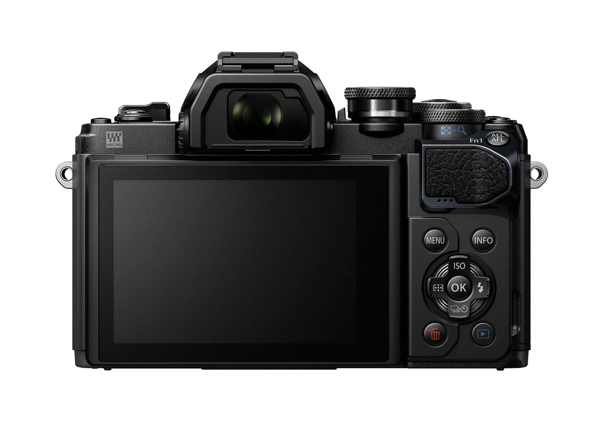 Olympus OM-D E-M10 Mark III Mirrorless Camera - Black