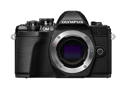 Olympus OM-D E-M10 Mark III w/14-42mm EZ Case & 16GB SD card - Black