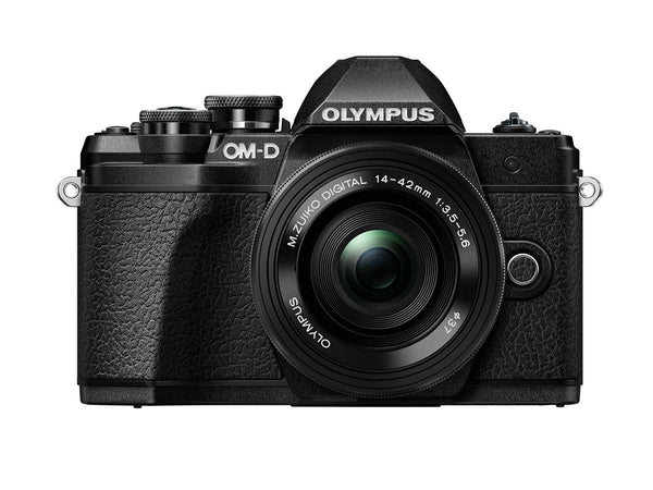 Olympus OM-D E-M10 Mark III with 14-42mm EZ - Black