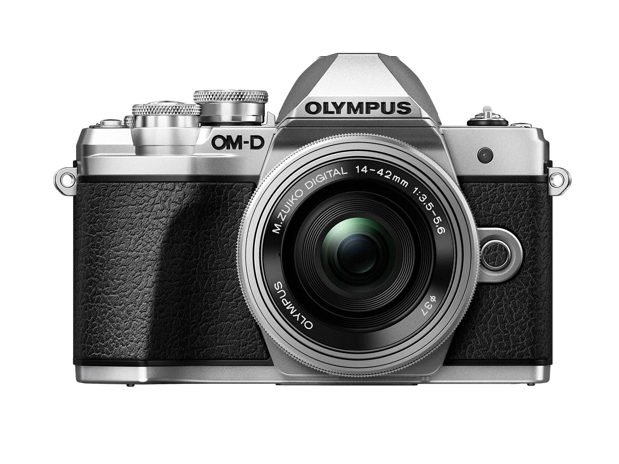 Olympus OM-D E-M10 Mark III w/14-42mm EZ Case & 16GB SD Card - Silver