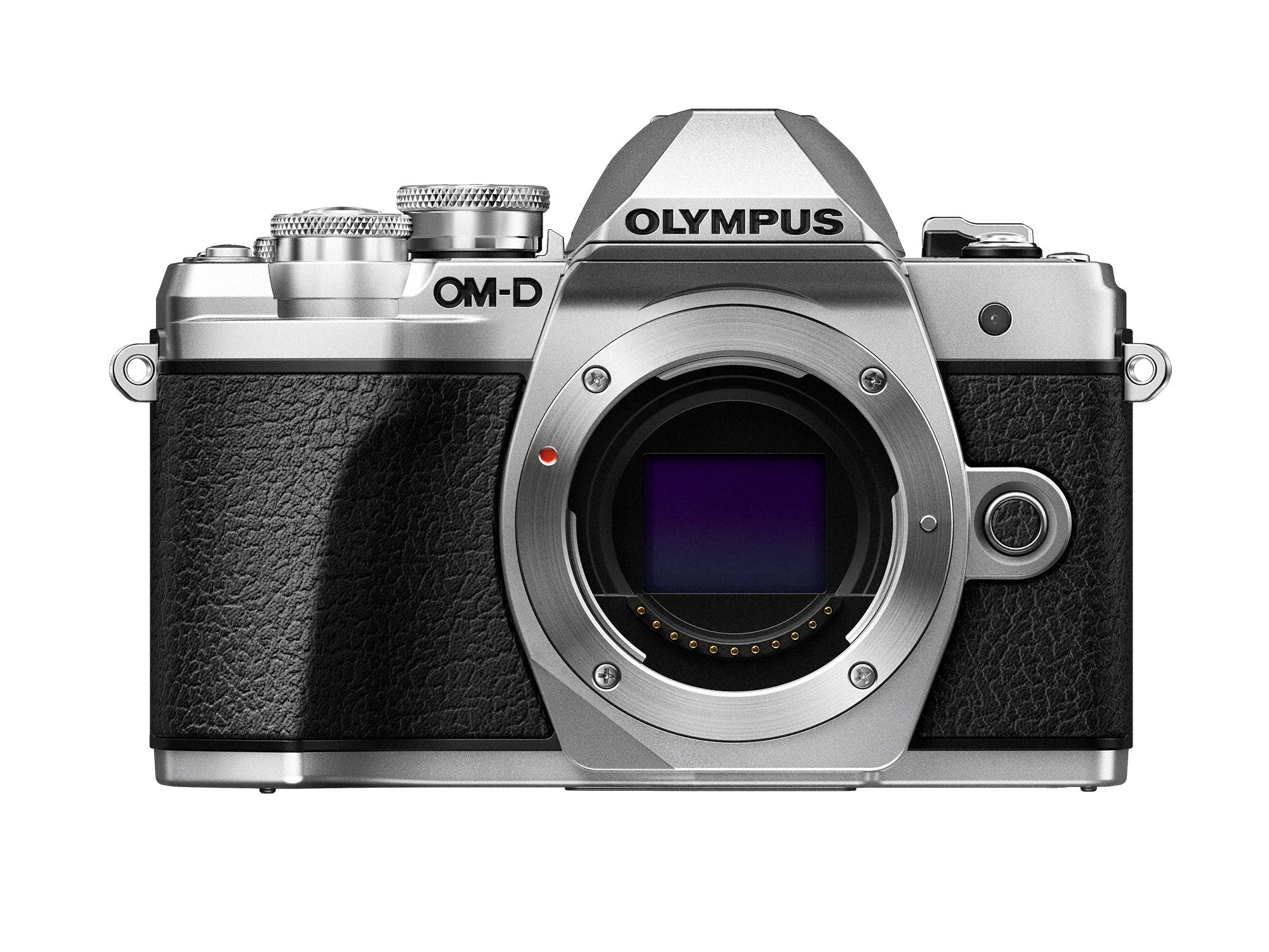 Olympus OM-D E-M10 Mark III Mirrorless Camera - Silver