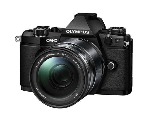 Olympus OM-D E-M5 Mark II with 14-150mm - Black