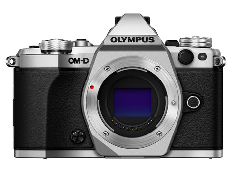 Olympus OM-D E-M5 Mark II Mirrorless Camera - Silver
