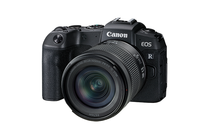 Canon EOS RP Full-Frame Mirrorless Body with RF24-105mm F4-7.1 IS STM Lens