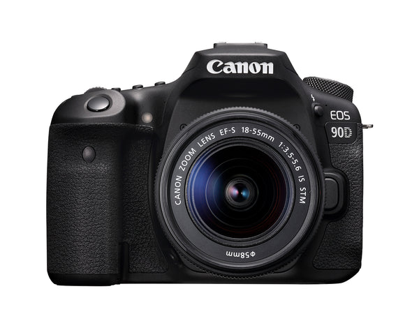 Canon EOS 90D DSLR with 18-55mm Lens