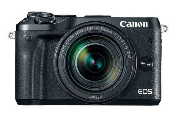 Canon EOS M6 EF-M 18-150mm f/3.5-6.3 IS STM - Black