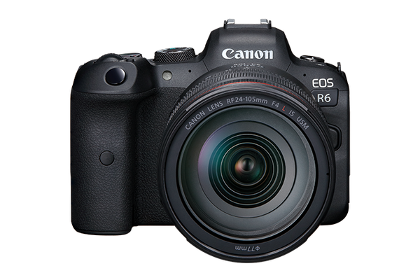 Canon EOS R6 Mirrorless Camera with 24-105mm USM f/4L Lens