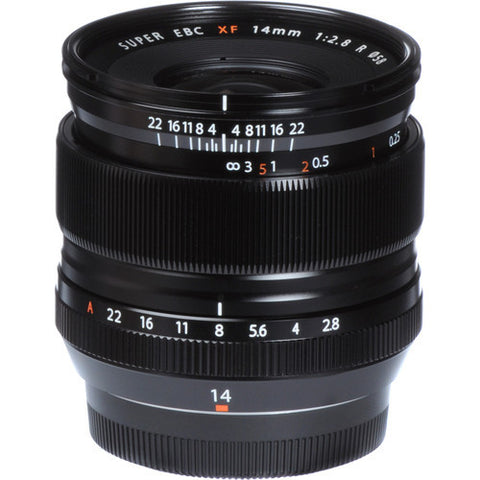 Fujinon XF 14mm F/2.8 Lens - Photo-Video - Fujifilm - Helix Camera