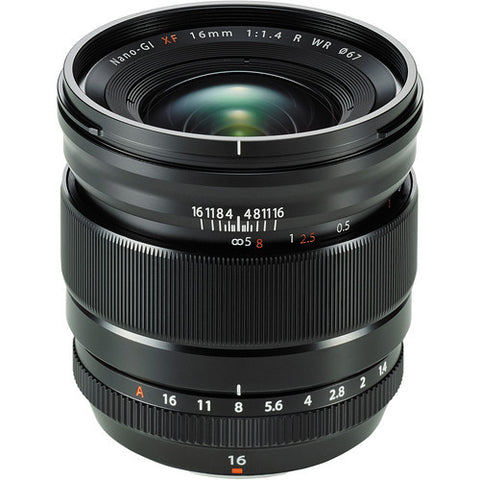 Fujinon XF 16mm F/1.4R Lens - Photo-Video - Fujifilm - Helix Camera