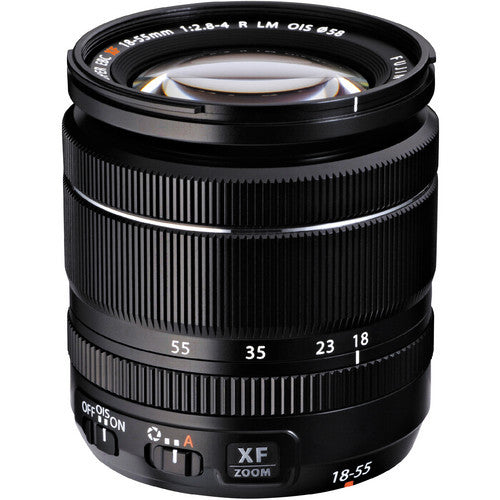 Fujinon XF 18-55mm F/2.8-4.0 Lens - Photo-Video - Fujifilm - Helix Camera