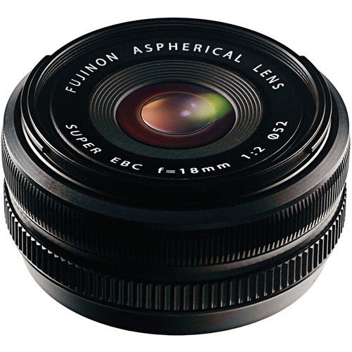 Fujinon XF 18mm F/2.0 Lens - Photo-Video - Fujifilm - Helix Camera