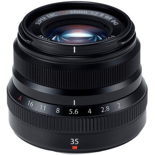 Fujinon XF 35mm f/2 R WR Lens (Black) - Photo-Video - Fujifilm - Helix Camera