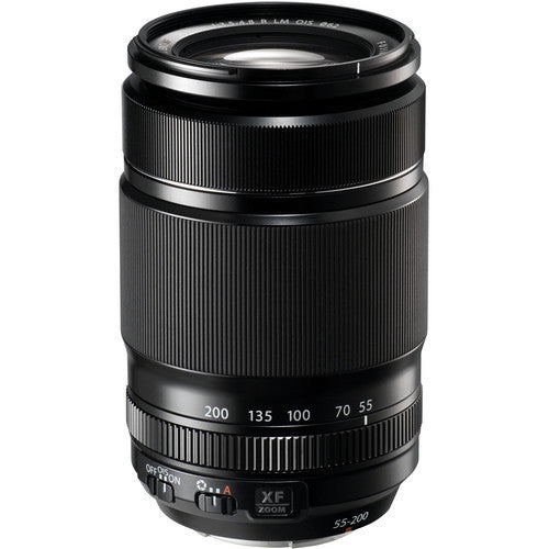 Fujinon XF 55-200mm F3.5-4.8 Lens - Photo-Video - Fujifilm - Helix Camera