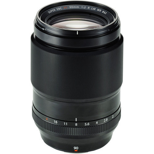 Fujinon XF 90mm F2.0 R LM WR Lenses - Photo-Video - Fujifilm - Helix Camera