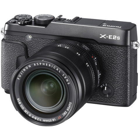 FujiFilm X-E2S Mirrorless Camera & XF 18-55mm f2.8-4.0 Lens Kit - Black - Photo-Video - Fujifilm - Helix Camera