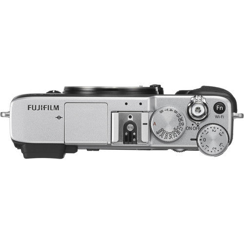 FujiFilm X-E2S Mirrorless Camera Body Only - Silver