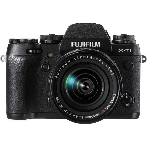 Fujifilm X-T1 Digital Camera & XF 18-55mm Lens Kit - Black
