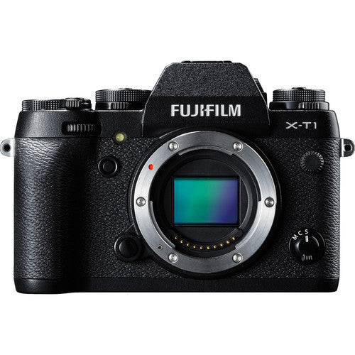 Fujifilm X-T1 Mirrorless Body Only - Black