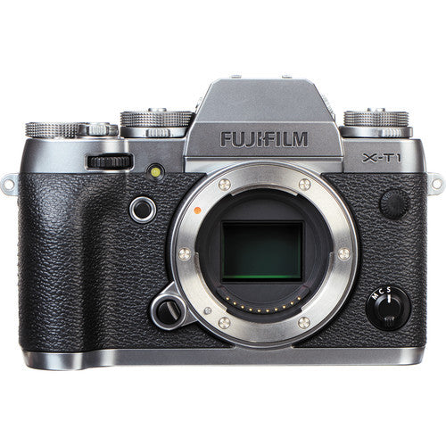 FujiFilm X-T1 Mirrorless Camera Body Only - Graphite
