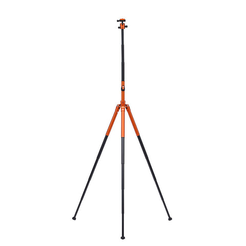 MeFoto Globe Trotter Air Travel Tripod with Ball Head - Orange