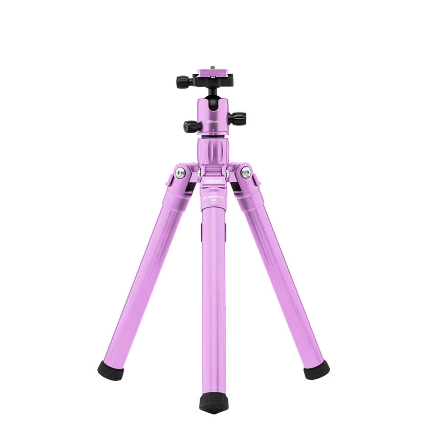 MeFoto Globe Trotter Air Travel Tripod with Ball Head - Purple