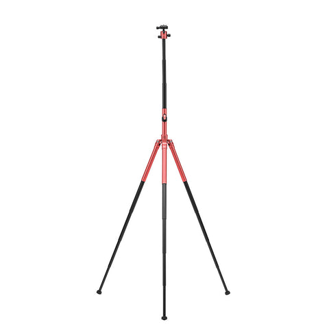 MeFoto Globe Trotter Air Travel Tripod with Ball Head - Red
