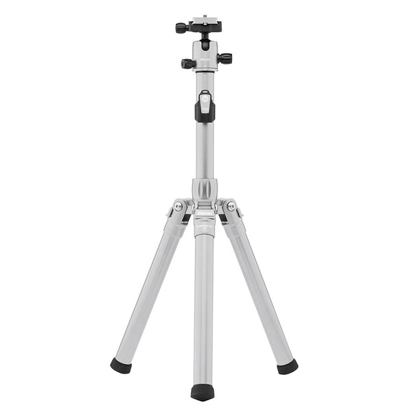 MeFoto Globe Trotter Air Travel Tripod with Ball Head - Titanium