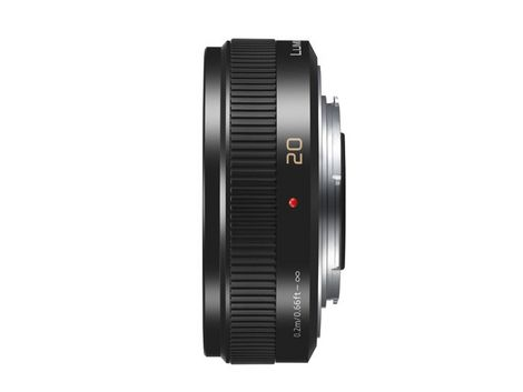 Panasonic LUMIX G 20mm f/1.7 II ASPH. Lens (Black) - Photo-Video - Panasonic - Helix Camera