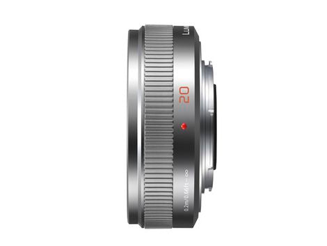 Panasonic LUMIX G 20mm f/1.7 II ASPH. Lens (Silver) - Photo-Video - Panasonic - Helix Camera
