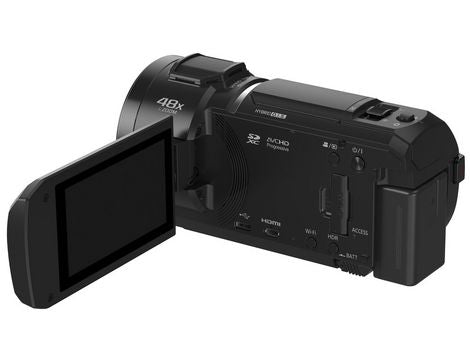 Panasonic HC-V800K 24x Zoom Twin Lens Full HD Camcorder