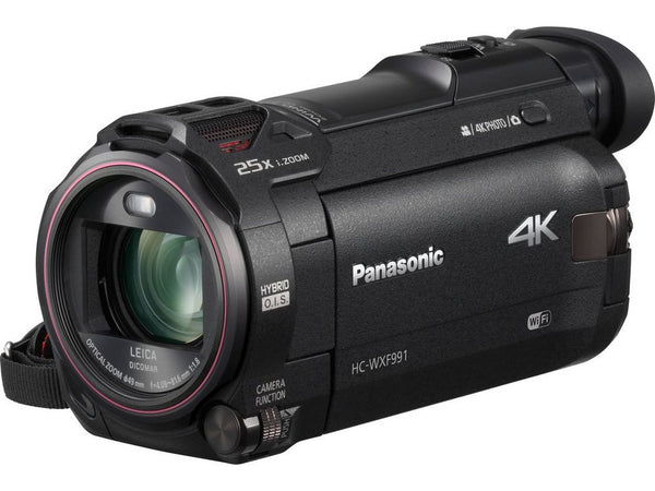 Panasonic  HC-WXF991K 4K Ultra HD Camcorder with Twin Lens