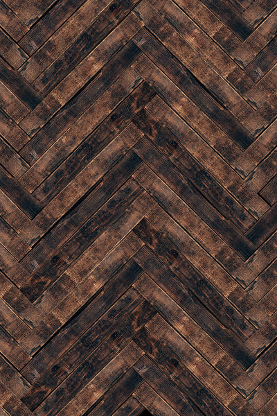 Savage Floor Drop - Herringbone Wood - 5'x7'