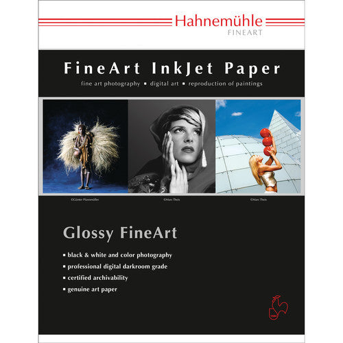 "Hahnemuhle FineArt Baryta 325 gsm - 13"" x 19""   25 Sheets - Print-Scan-Present - Hahnemuhle - Helix Camera"