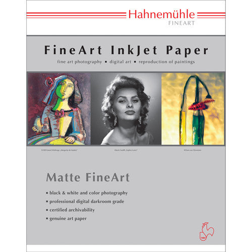"Hahnemuhle German Etching 310gsm - 8.5"" x 11""  25 Sheets"