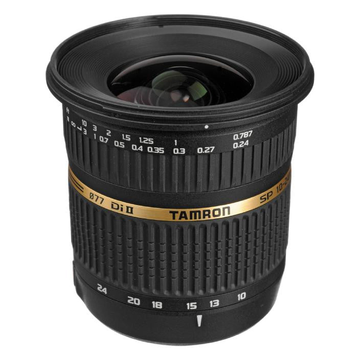 Tamron Sony SP 10-24mm F/3.5-4.5 Di-II LD Aspherical (IF) w/ hood AFB001S700 - Photo-Video - Tamron - Helix Camera