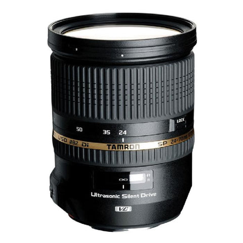 Tamron Sony SP 24-70mm F/2.8 Di USD w/ hood AFA007S700 - Photo-Video - Tamron - Helix Camera