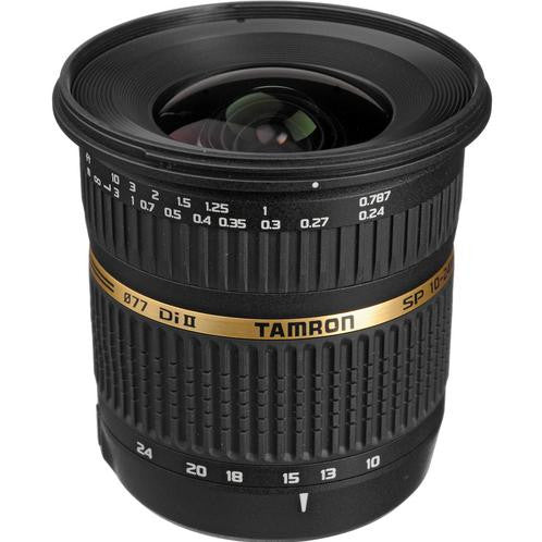 Tamron Canon SP 10-24mm F/3.5-4.5 Di-II LD Aspherical (IF) w/ hood AFB001C700