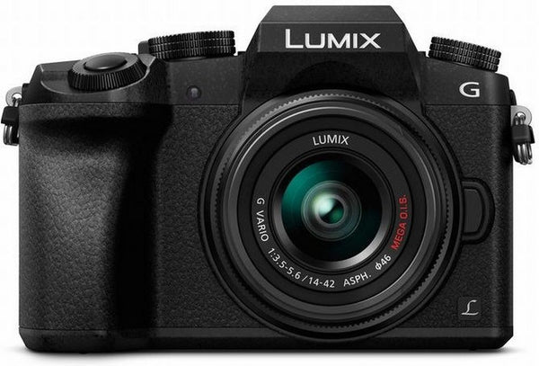 Panasonic Lumix DMC-G7 Mirrorless Micro Four Thirds Digital Camera with 14-42mm Lens (Black) - Photo-Video - Panasonic - Helix Camera
