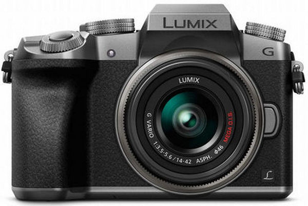Panasonic Lumix DMC-G7 Mirrorless Micro Four Thirds Digital Camera with 14-42mm Lens (Silver) - Photo-Video - Panasonic - Helix Camera