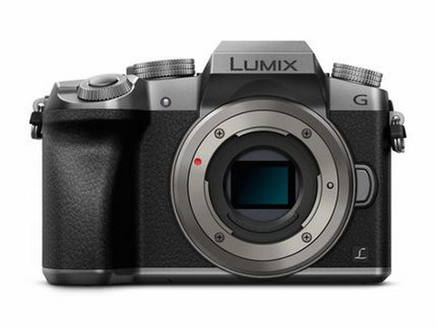 Panasonic Lumix DMC-G7 Mirrorless Micro Four Thirds Digital Camera with 14-42mm Lens (Silver)