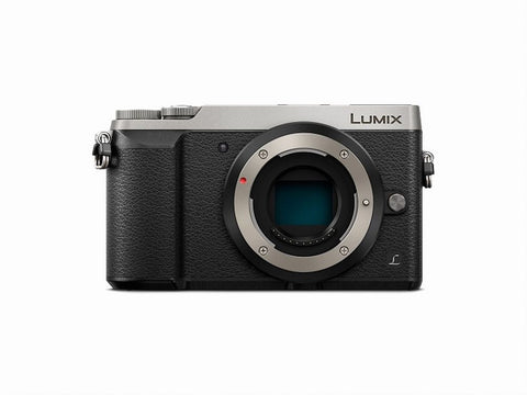 Panasonic Lumix GX85 Mirrorless Micro Four Thirds Camera with 12-32mm Lens (Silver)
