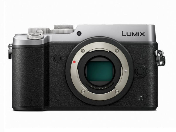 Panasonic Lumix DMC-GX8 Mirrorless Micro Four Thirds Digital Camera (Body Only, Silver)
