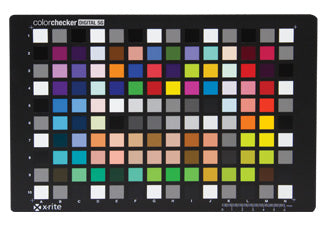 X-Rite ColorChecker Digital SG MSDCCSG