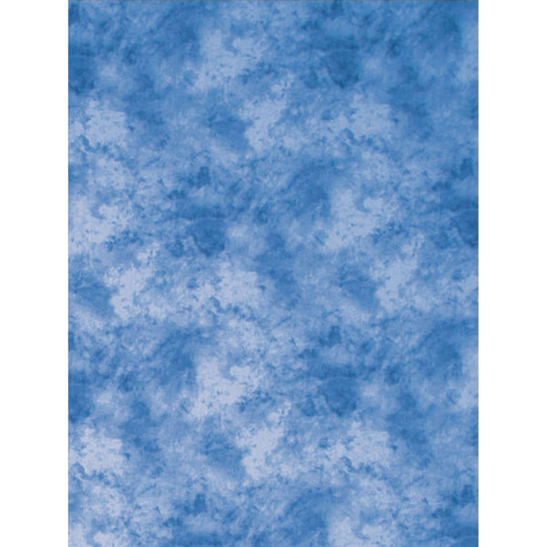 ProMaster Cloud Dyed Backdrop - 6'x10' - Medium Blue - Lighting-Studio - ProMaster - Helix Camera