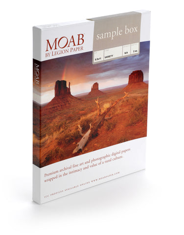 Moab Sample Box - 8.5 x 11 [2 sheets/ea]