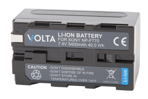 Volta NP-F770 Li-Ion Battery