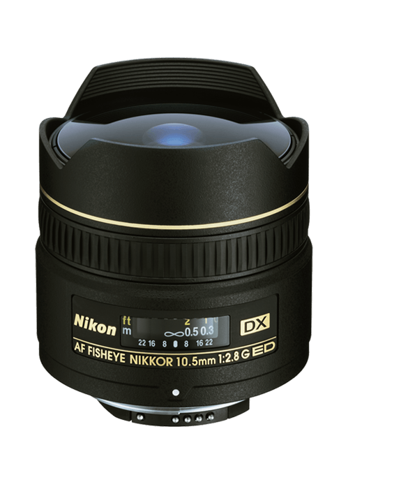 Nikon AF Fisheye NIKKOR 10.5mm f/2.8G ED DX - Photo-Video - Nikon - Helix Camera
