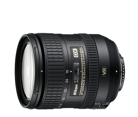 Nikon AF-S NIKKOR 16-85mm f/3.5-5.6G ED VR DX - Photo-Video - Nikon - Helix Camera