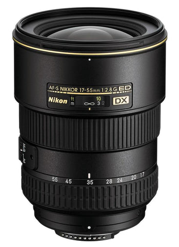 Nikon AF-S NIKKOR 17-55mm f/2.8G IF-ED DX - Photo-Video - Nikon - Helix Camera